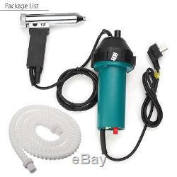 1080 1600W Hot Air Gas Plastic Welding Torch Welder Heat Gun Floor Nozzle Tool