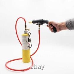 10XGas Self Ignition Handle Torch Brazing Solder Propane Welding Plumbing U8J8