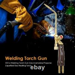 10XWelding Torch Tips Gas H01-6 Copper Applicable Oxygen Acetylene/Propane