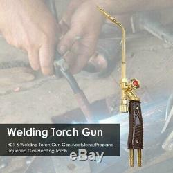 10XWelding Torch Tips Gas H01-6 Copper Applicable Oxygen Acetylene/Propane W5U1