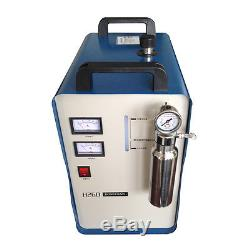 110V 800W Portable HHO Flame Generator Acrylic Polishing Machine + 2 Gas Torches