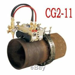 110V Magnetic Tunnel Pipe Torch Gas Cutting Machine Cutter CG2-11 US