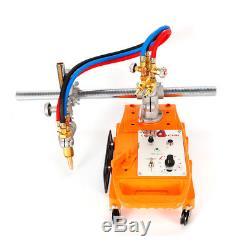110V Portable Semi-automatic Torch Gas Cutting Machine Pipe Circular Cutter TOP
