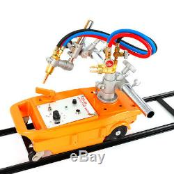 110V Torch Track Burner CG1 Gas Cutting machine Cutter Propane Nozzle 1.8m Rail