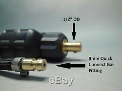 12' CK17 Tig Torch 35 Dinse 9mm Gas connection Compatible with Everlast China