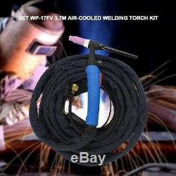 12ft 220Amp WP-17FV-12 Air-Cooled TIG Welding Torch Flexible Gas Valve Head