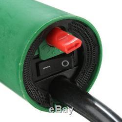 1600W 220V Hot Air Gas Plastic Welding Torch Gun Heat Welder Tools + Nozzle Set
