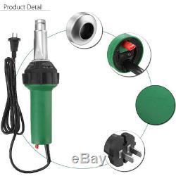 1600With1080W 220V Hot Air Plastic Gas Welding Gun Torch Welder Pistol Nozzle Kit