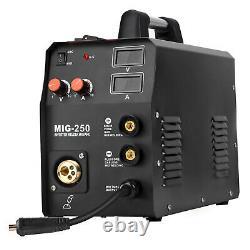 200A MIG250 MMA Lift TIG MIG Welding Machine Torch MAG Gas Gasless Stick Welder