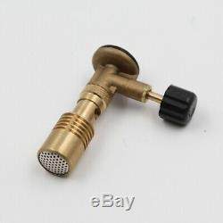 20XHigh Temperature Brass Gas Turbo Torch Propane Weld Plumbing Portable