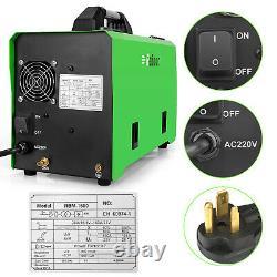 220V MIG Welder 160A Flux Core Wire Gasless/Gas Welding Machine + 17FV TIG TORCH