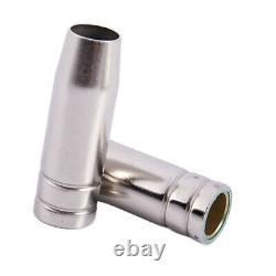 30X15Ak Gas Nozzle 10Pcs Mig Welding Torch Gas Nozzle Contact