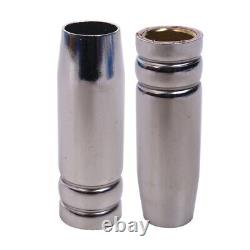 30X15Ak Gas Nozzle 10Pcs Mig Welding Torch Gas Nozzle Contact Tip For Mig Mag