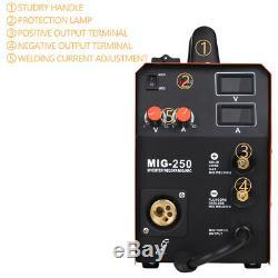 3In1 HITBOX MMA Lift TIG MIG Welding Machine Torch MAG Gas Gasless Stick MIG250