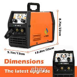 3in1 MIG Welder 110/220V Lift TIG ARC Inverter No gas MIG Welding with TIG Torch