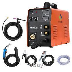 4 in1 MIG250 MIG Welder 220V 200A ARC Lift TIG MIG Welding Machine with TIG Torch