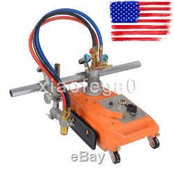 470230240mm Aluminum Torch Track Burner CG1-30 Gas Cutting Machine Cutter USA