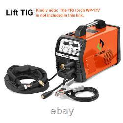 4IN1 MIG Welding Machine Inverter 220V Gas Gasless Stick ARC Lift TIG MIG Welder