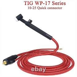 4M TIG Hose Cable Quick Connector Welding Torch Gas Electric WP17 WP 17F 17FV
