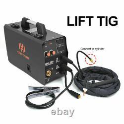 4in 1 MIG Welder 220V Gas Gasless 200A ARC TIG MIG Welding Machine with TIG Torch