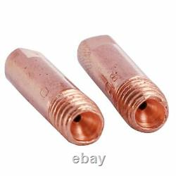 50X13Pcs CO2 Mig Welding Torch Aircooled MB 15AK Contact Tip Holder Gas Nozzle