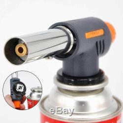 520C Camping Gas Torch Welding Fire Maker Lighter Butane Burner Flame Gun