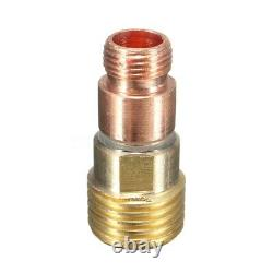 5X49pcs/set Durable TIG Welding Torch Stubby Tig Gas Lens #10 Pyrex Glass