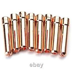 5X63PCS TIG Welding Torch Stubby Gas Lens 10 Pyrex Glass
