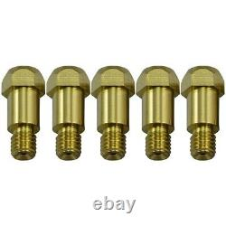 5XContact Tip Conical Gas Nozzle Tip Holder & 24KD MB24 MIG MAG Welding Torch