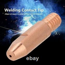 5XMb 24Kd Welding Torch Consumable 35Pcs 1.0Mm Mig Torch Gas Nozzle Tip