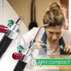 5XMini Gas Torch Welding Solde Tool Oxygen Acetylene Tool Platinum Metal
