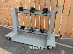 6-Cylinder welding cart gas truck argon acetylene medical oxygen torch welder 12