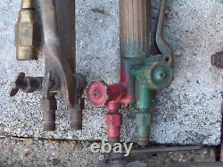 7 Vintage Harris, Purox, Oxweld Cutting Welding Torch Oxygen Acetylene Gas