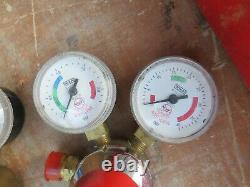 A Very Good Oxy Acetylene Gas Welding Cutting Torch Set With Boc Regulators
