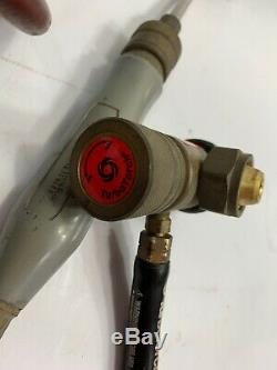 Acetylene Gas Regulator & Turbo Torch With 12 Hose Welding
