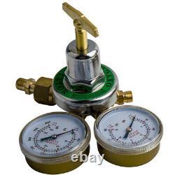 Acetylene/Oxygen Regulators Solid Brass 4 Welding Fit Victor Gas Torch Cutting