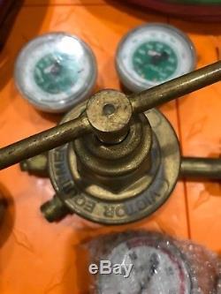 Acetylene & Oxygen Welding Cutting Outfit Torch Set Gas Welder Kit