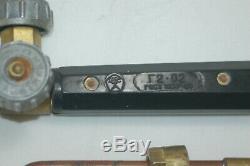 Acetylene gas torch for metal welding, RARE, MODEL G2 02, 1979
