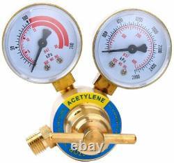Air Acetylene Kit Torch Acetylene Regulator CGA 200 Gas Welding Cutting Set