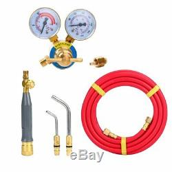 Air Acetylene Kit Torch Kit Swirl +1 Acetylene Regulator CGA 200 Weld Gas Welder