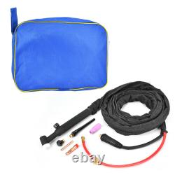 Air-cooled Welding Gun Sturdy And Durable WP26V TIG Torch Lift Type 4 Meter