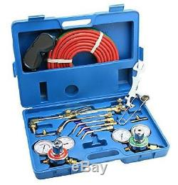 Arksen Gas Welding Cutting Torch Kit, Professional Set, Victor Type, Carrying
