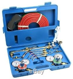 Arksen Gas Welding and Cutting Torch Kit, Professional Set, Victor Type, Case
