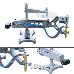 Auto Torch Track Burner Cutter Speed Control Profiling Gas Cutting Machine 110V