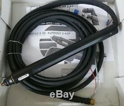 Autocut PA1580 CNC S45P Plasma Cutting Torch 40A Trafimet with 1/4 Gas