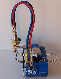Bluerock Cg211 Pipe Cutter Magnetic Gas Machine Torch Burner Beveler Cutting