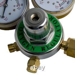 Brand New Oxygen Acetylene Regulators Brass Welding Fit Victor Gas Torch Cutting
