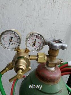 Brand New Radnor Oxygen / Acetylene Welding/ Cutting Torch Set With Gas In Tanks