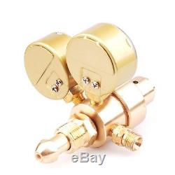 Brass Oxygen Acetylene Regulator Gas Welding Welder Fit Victor Torch Cutting