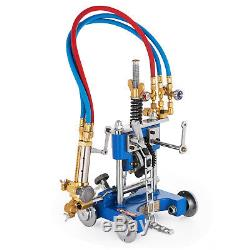 CG-211Y Manual Pipe Cutting Beveling Machine Track Torch Burner Chain GAS Cutter